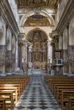 Cattedrale di Sant'Andrea Interior  Amalfi  Campania  Italy