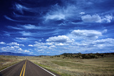 Highway 78  New Mexico  High Alpine Grasslands and Clouds