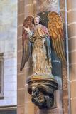 Portugal  Evora  Cathedral of Evora  Angel Statue