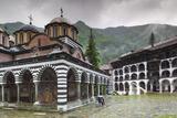 Bulgaria  Southern Mountains  Rila  Rila Monastery  Exterior