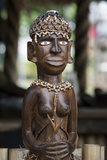 Melanesia  Solomon Islands  Guadalcanal Island Wood Carved Figurine
