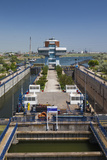 Romania  Navodari  Midia-Navodari Locks on the Black Sea Canal
