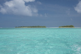 Cook Islands  Aitutaki  Honeymoon Island Motu Surrounded by Lagoon