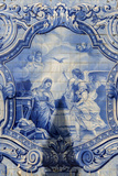 Lamego  Portugal  Shrine of Our Lady of Remedies  Azulejo