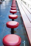 New York City  NY  USA Vintage Diner Seats