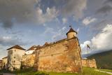 Romania  Transylvania  Brasov  Brasov Citadel  Sunset