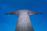 Statue of Christ the Redeemer on Corcovado  Rio de Janeiro  Brazil