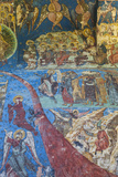 Romania  Manastirea Humorului  Humor Monastery  Religious Frescoes