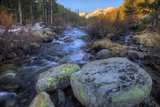 USA  California  Sierra Nevada Range Rock Creek Landscape