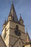 Romania  Transylvania  Sibiu  Piata Huet Square  Evangelical Church