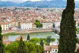 City Center of Florence  River Arno  Firenze  UNESCO  Tuscany  Italy