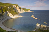 Overlooking Man O War Bay Along the Jurassic Coast  Dorset  England