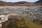 Chile  Andes Mountains  Atacama Desert  El Tatio Geysers Fumaroles
