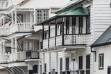 Colonial House in the Historic Center of Paramaribo (UNESCO)  Suriname