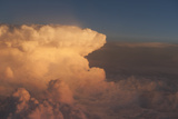 Aerial View of a Cumulonimbus Cloud