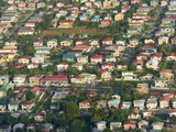 Aerial View of Georgetown  Guyana
