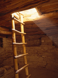 Ladder in a Kiva in Mesa Verde National Park  Colorado