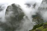 Peru  Machu Picchu  Valley in the Fog
