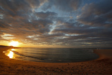 Sunset over Meadow Beach  Cape Cod National Seashore  Massachusetts
