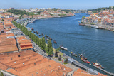 Portugal  Oporto  Douro River  Overlook of the City of Gaia
