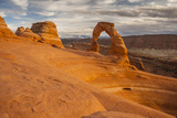 USA  Utah  Arches National Park Delicate Arch at Sunset