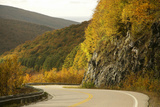 Canada  Nova Scotia  Cape Breton  Cabot Trail  in Fall Color