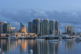 City Skyline from Harbor in San Diego  California  USA