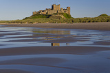 Bamburgh Castle  North Umbria  England  UK