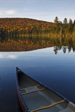 A Canoe on the Shore of Pond of Safety  Randolph Forest New Hampshire