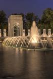 USA  Washington DC World War II Memorial