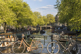 Canal  Amsterdam  Holland  Netherlands
