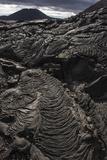 Lava Formations Sullivan Bay Santiago Island  Galapagos  Ecuador