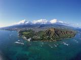 Diamond Head  Honolulu  Oahu  Hawaii  USA