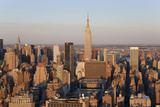 Empire State Building and Midtown Manhattan  New York  USA