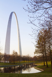 The Gateway Arch in St Louis  Missouri Jefferson National Memorial