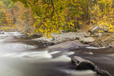 Packers Falls on the Lamprey River in Durham  New Hampshire Fall
