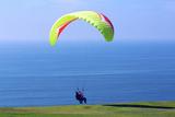 California  San Diego  Torrey Pines Gliderport Hang Gliders Landing