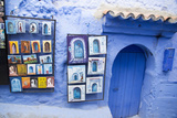 Painted Tiles in the Kasbah  Chaouen  Tangeri-Tetouan  Morocco