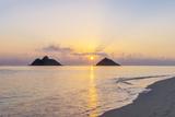 USA  Hawaii  Oahu  Lanikai Beach Sunrise
