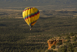 Aerial View  Doe Mesa  Red Rock Country  Sedona  Coconino NF  Arizona