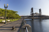 Oregon  Portland Waterfront Park Along the Willamette River