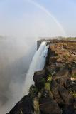 Rainbow over Victoria Falls  Zambia