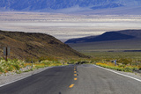 SR 190 Climbing Up from Death Valley  Mojave Desert  California