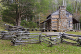 Tennessee  Great Smoky Mountains NP John Oliver Place in Cades Cove