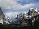 USA  California  Yosemite National Park in Winter