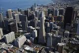 California  San Francisco  Transamerica Pyramid Skyscraper and Skyline