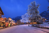 Christmas Lighting Festival  Leavenworth  Bavarian Village  Washington