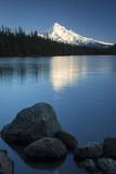 Mt Hood Rises Above Lost Lake  Cascade Mountains  Oregon  USA