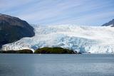 Beautiful Glaciers Drop into the Ocean in Kenai Fjords NP  Alaska