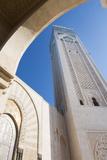 Casablanca  Morocco Exterior  Famous Hassan II Mosque